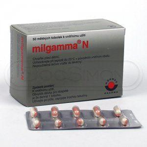 Milgamma N 50 tablet cena od 273 Kč