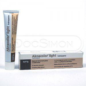 Aknecolor Light mast 1% 30 g cena od 139 Kč