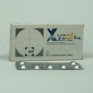 Xyzal 5 mg 14 tablet