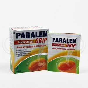 PARALEN GRIP horký nápoj CITRÓN 6 sáčků cena od 79 Kč