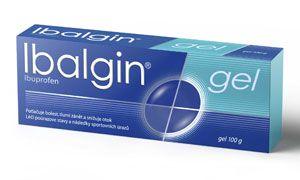 IBALGIN GEL 100 g cena od 110 Kč