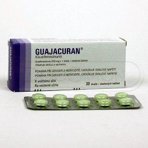 Guajacuran 200 mg 30 tablet cena od 60 Kč