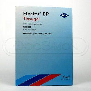 Flector EP Tissugel náplast 2 ks cena od 77 Kč
