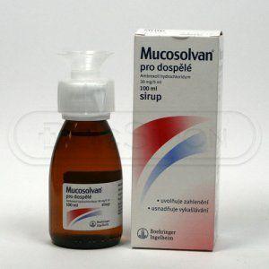 Mucosolvan sirup 100 ml cena od 88 Kč