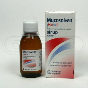 XXL obrazek Mucosolvan Junior sirup 120 ml
