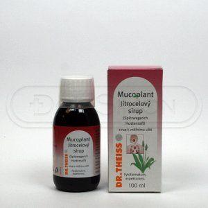 Mucoplant Jitrocelový sirup 100 ml cena od 49 Kč