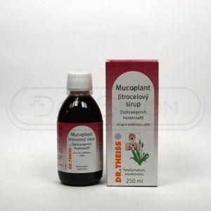 Mucoplant Jitrocelový sirup 250 ml cena od 121 Kč