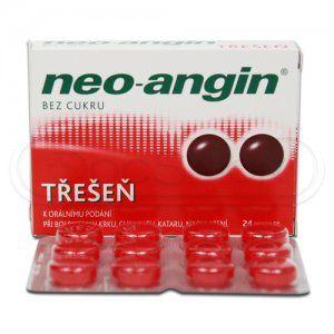 Neo-angin Třešeň 24 pastilek cena od 97 Kč