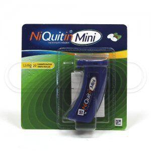 NIQUITIN MINI 1,5 mg 20 pastilek cena od 119 Kč