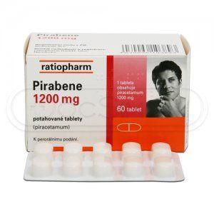 Pirabene 1200 mg 60 tablet cena od 158 Kč