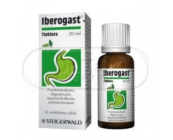 IBEROGAST kapky 20 ml cena od 167 Kč