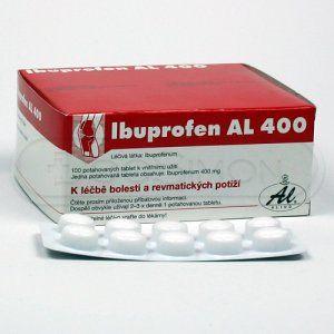 Ibuprofen Al 400 400 mg 100 tablet