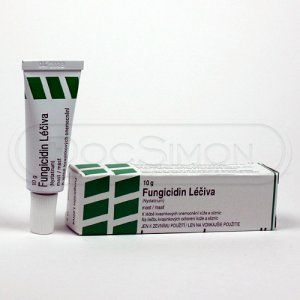 Fungicidin mast 10 g cena od 56 Kč