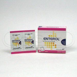 Enterol 250 mg 10 sáčků cena od 112 Kč