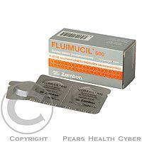 FLUIMUCIL 600 mg 10 tablet cena od 73 Kč