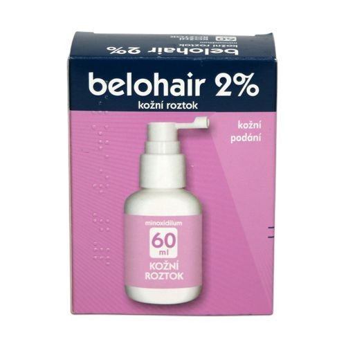 BELOHAIR 2% roztok 60 ml