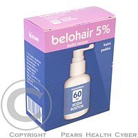 BELOHAIR 5% roztok 60 ml