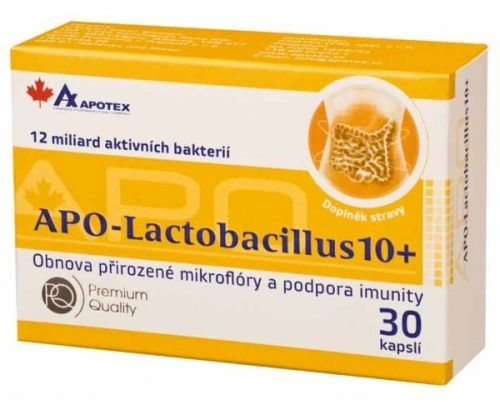 APO-Lactobacillus 10+ 30 tablet cena od 155 Kč