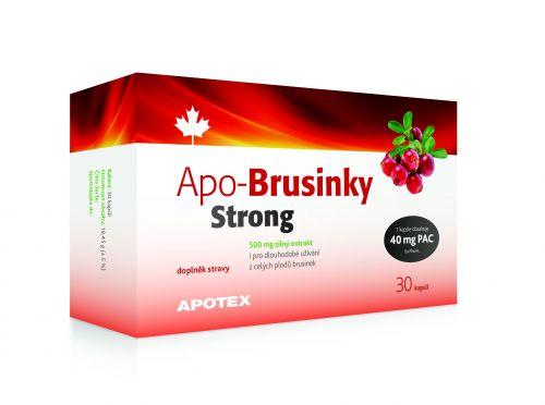 APO-Brusinky 500 mg 30 kapslí cena od 139 Kč