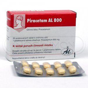 Piracetam AL 800 mg 30 tablet cena od 62 Kč