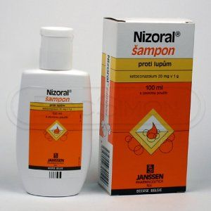 Nizoral 2% šampon 100 ml cena od 275 Kč