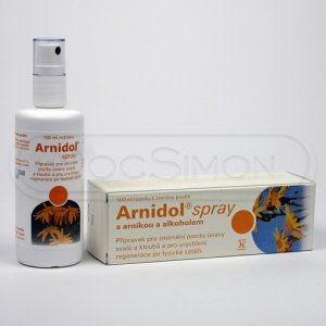 Arnidol spray 100 ml cena od 95 Kč