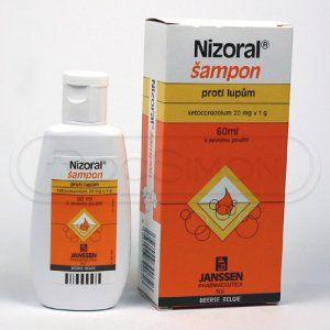 Nizoral 2% šampon 60 ml cena od 180 Kč