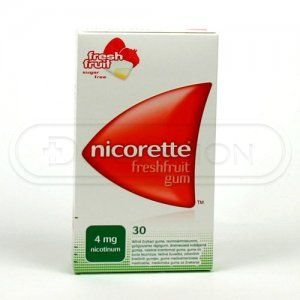 Nicorette Freshfruit Gum 4 mg 30 žvýkaček