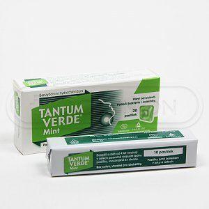 TANTUM VERDE MINT 3 mg 20 pastilek cena od 105 Kč