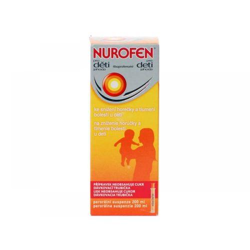 NUROFEN Jahoda 2000 mg 100 ml cena od 83 Kč