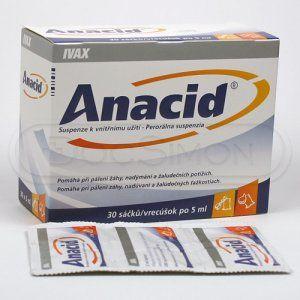 Anacid suspenze 5 ml 30 sáčků cena od 77 Kč