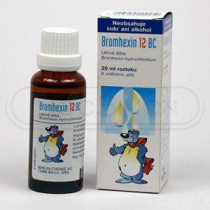 Bromhexin 12 BC kapky 30 ml cena od 47 Kč