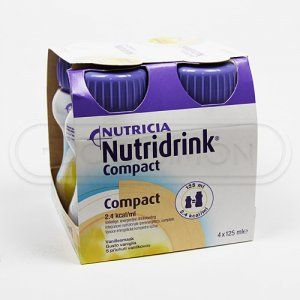 Nutridrink Compact s příchutí Vanilky 4x125 ml cena od 188 Kč