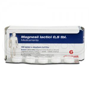 Magnesii Lactici 0.5 g 100 tablet