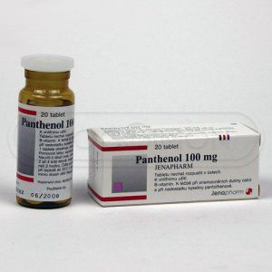 XXL obrazek PANTHENOL 100 mg 20 tablet