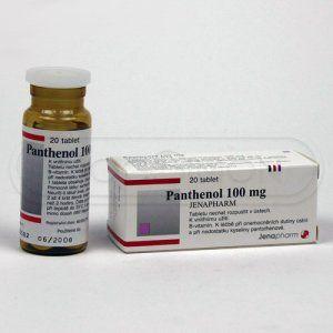 PANTHENOL 100 mg 20 tablet cena od 97 Kč
