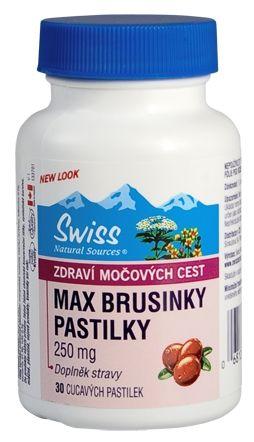 MAX BRUSINKY 30 tablet cena od 175 Kč