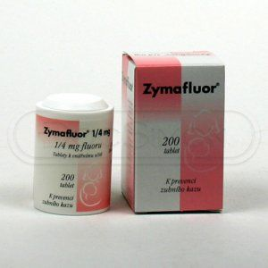 XXL obrazek Zymafluor 0.25 mg 200 tablet
