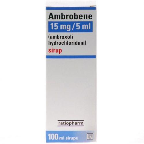 AMBROBENE Sirup 100 ml cena od 60 Kč
