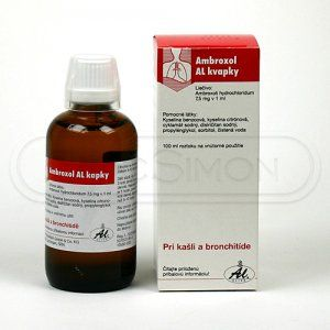 Ambroxol AL 750 mg 100 ml kapky cena od 60 Kč