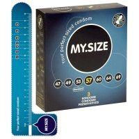My.Size kondomy 57 mm 3 ks