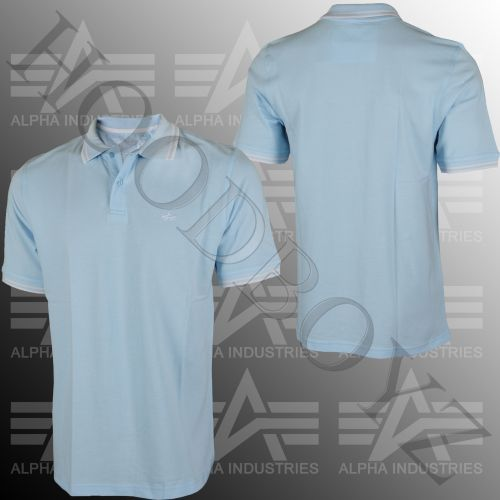 Alpha Industries Twin Stripe Polo Košile