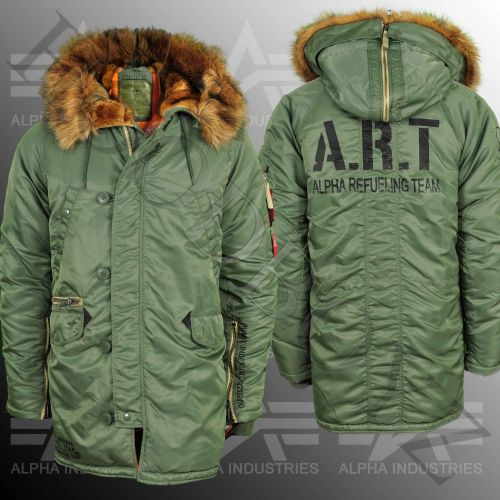 Alpha Industries Art N3b Vf Zimní Bunda