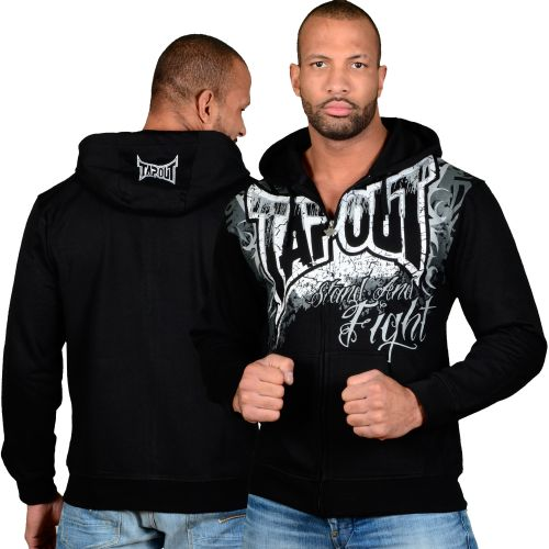 Tapout Stand And Fight Zip Mikina s kapucí - Srovname.cz 82d22f27be