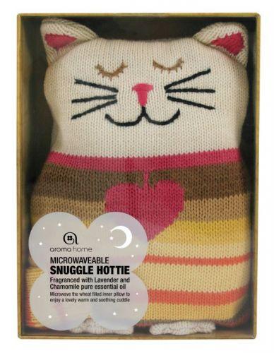 AROMA HOME Kočička Hřejivý polštářek