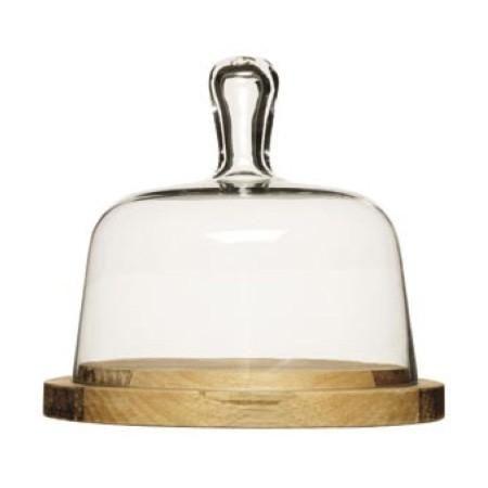 SAGAFORM Oval Oak Prkénko na sýr s poklopem cena od 0 Kč