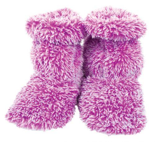 AROMA HOME Fluffy Voňavé nahřívatelné papuče