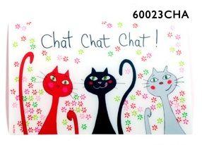 FOX TROT Plastové prostírání Tři kočky cena od 29 Kč