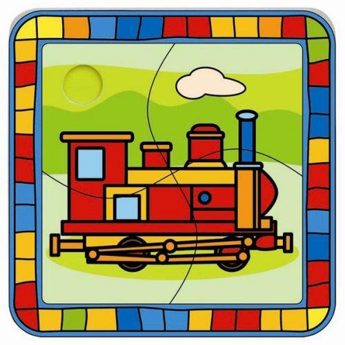 Puzzle lokomotiva cena od 61 Kč