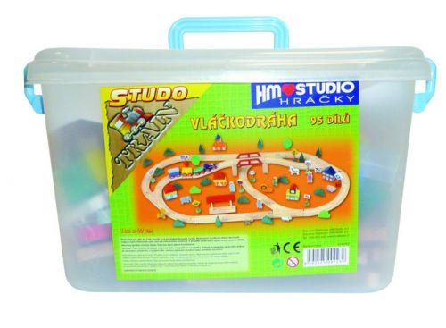 HM Studio vláčkodráha 95 dílů